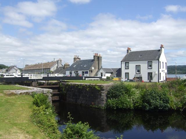 Crinan Canal - Lock No 3
