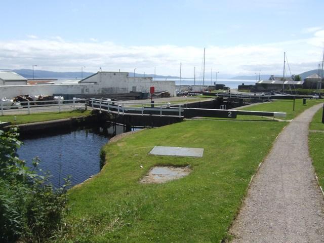 Crinan Canal - Lock No 2