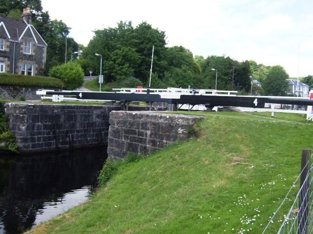 Crinan Canal - Lock No 4