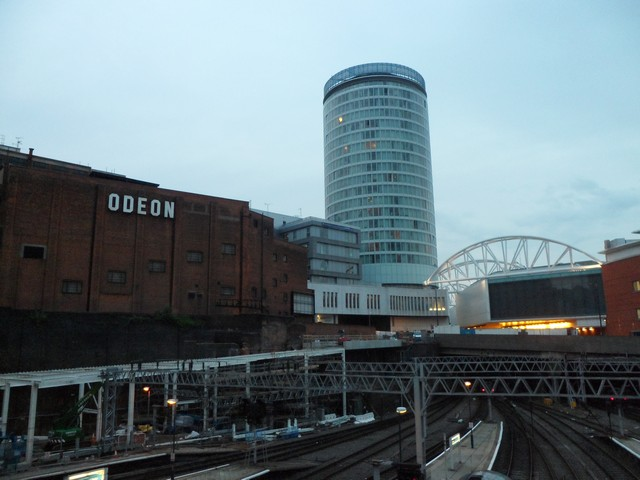 The Rotunda from New Street Station