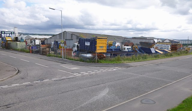 Finnies scrap yard, Longman Drive