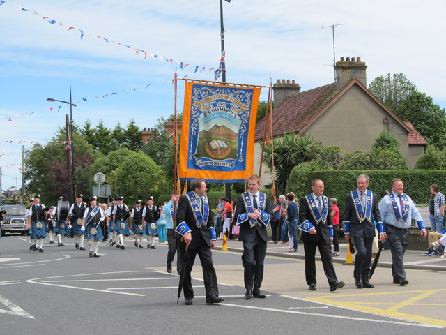Banner of the Ballymartin Guiding Star of Freedom LOL No 1456