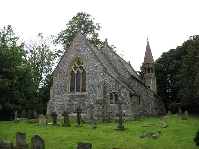 St Mary's church, Lambourn Woodlands