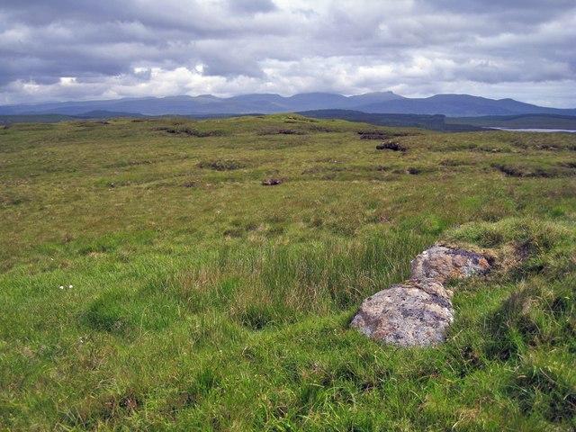 Summit of Beinn na Cloiche