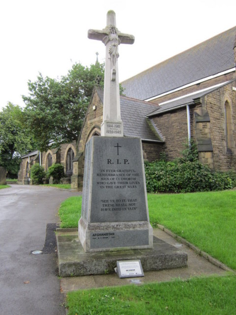 The War Memorial at Cudworth