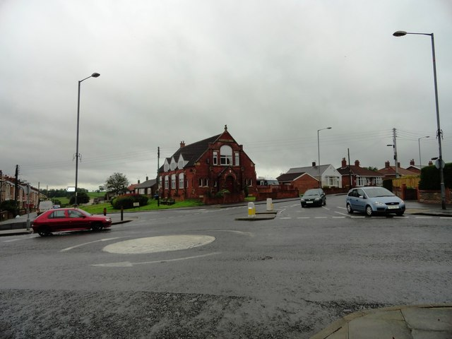 Road junction, Ferryhill