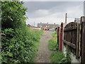 SE3808 : Walking towards Eveline Street, Cudworth by Ian S