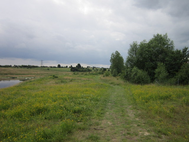 A public right of way across Cudworth Common