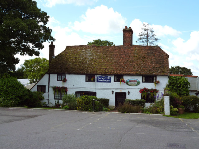 Titsey:  Botley Hill Farmhouse