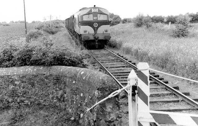 Gypsum train at Knightstown