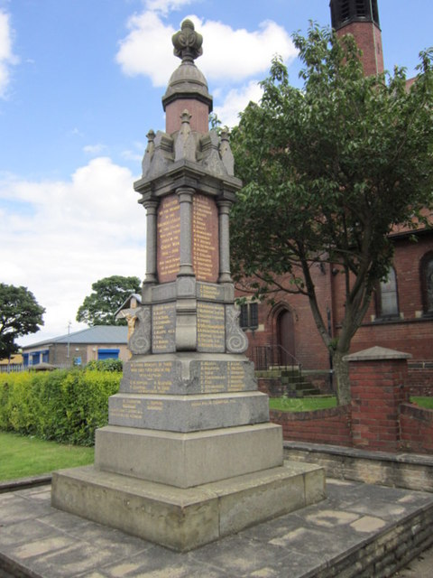 The War Memorial at Grimethorpe