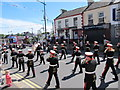 J3014 : The Ballinran Flute Band approaching the Upper Square by Eric Jones