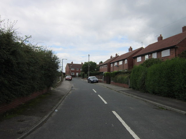 Hillside Crescent off Brierley Road