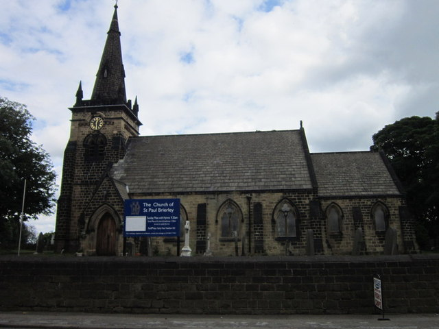 St Paul's Church, Brierley