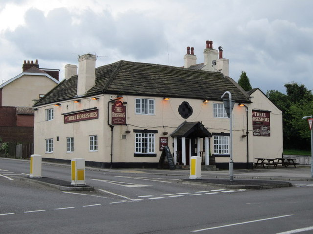 The Three Horseshoes, Brierley