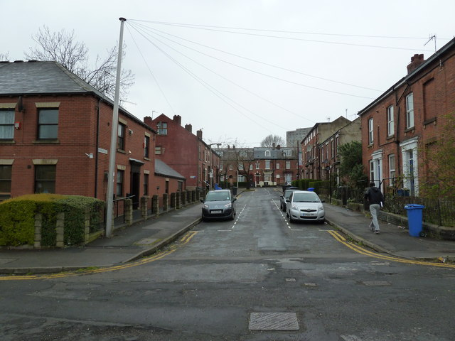Looking into Monmouth Street from Filey Lane