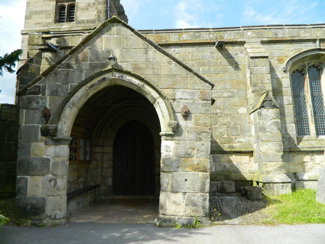 Leaning Porch, All Saints, Muggington