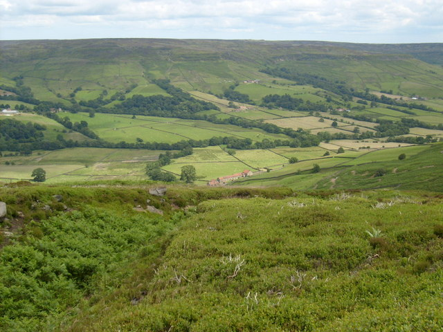 The climb out of Farndale