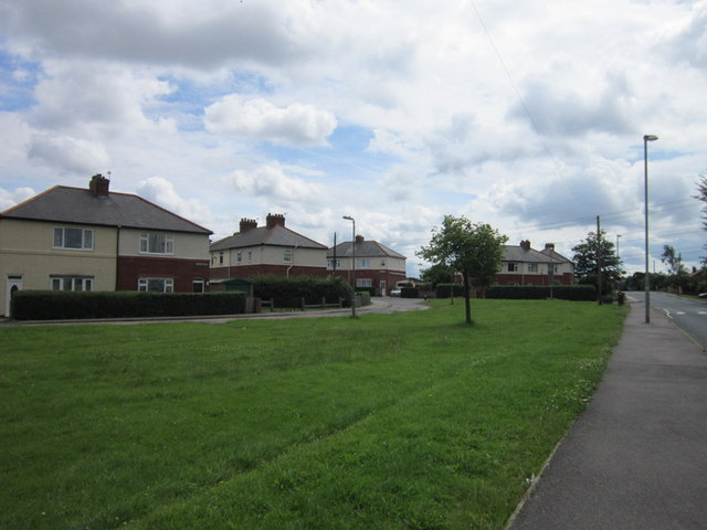 Housing estate at High Common