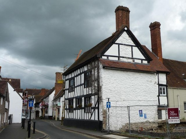 The former Swan and Falcon Inn, High Street