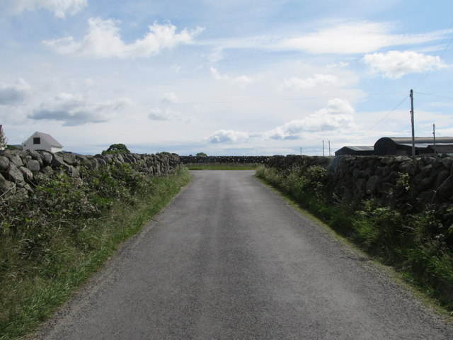 A T-junction on the Leitrim Road