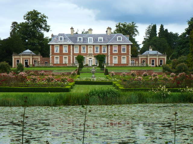 Highnam Court from the other side of the lake