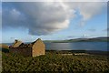 HY4028 : Ruined cottage, Newhouse, Rousay, Orkney by Claire Pegrum