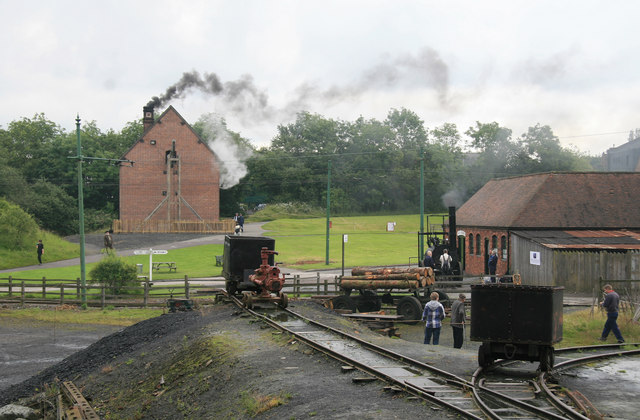 Black Country Living Museum - steam event