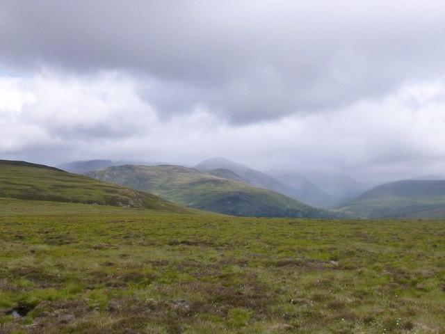Moorland south-east of Sgòr Dubh