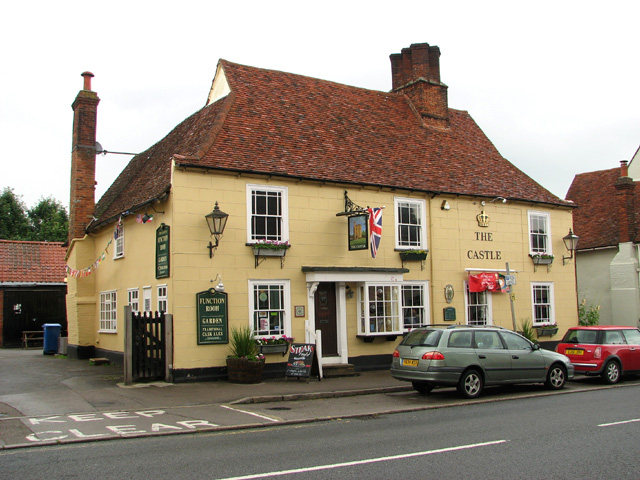 The Castle public house in Earls Colne
