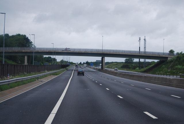 Roads And Bridges >> A1(M), York Road Bridge © N Chadwick cc-by-sa/2.0 :: Geograph Britain and Ireland