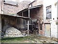 SJ6702 : Courtyard at Broseley Pipe Works by Christine Johnstone