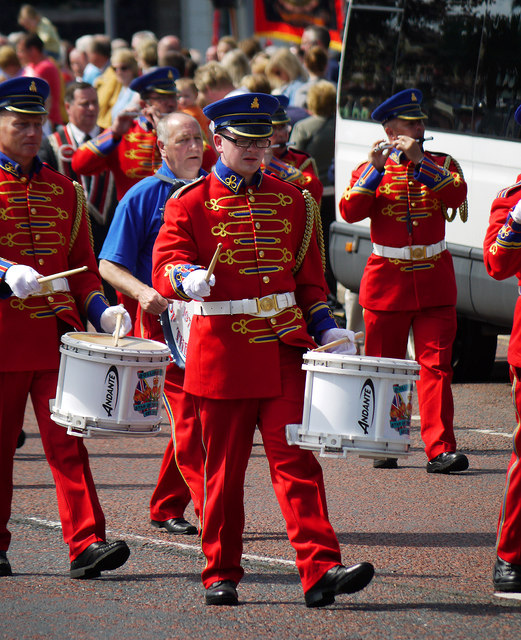 Royal Black Institution parade, Bangor