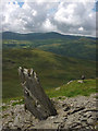 SD2192 : Rock flake on Stickle Pike by Karl and Ali