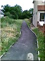 TQ5183 : Path off Frederick Road, South Hornchurch by Alex McGregor