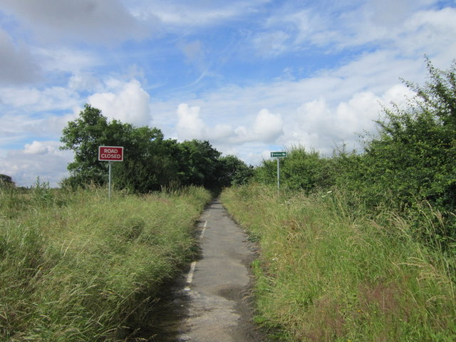 Went Lane is now a bridleway