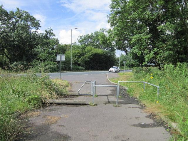 Went Lane towards Doncaster Road