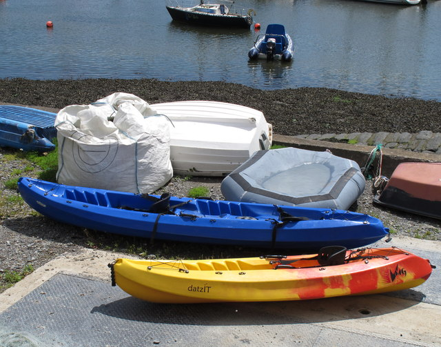 Sit-on-top kayaks at Scilly, Kinsale Harbour