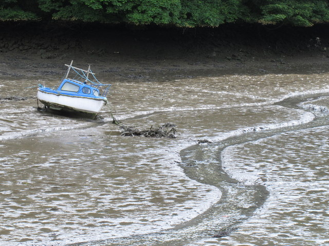 Low tide, Kinsale harbour
