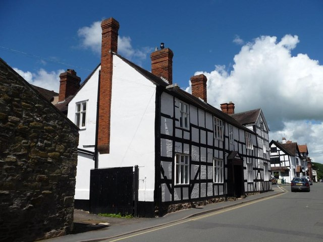 Half-timbered building, Church Stretton
