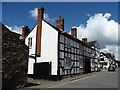 SO4593 : Half-timbered building, Church Stretton by Christine Johnstone