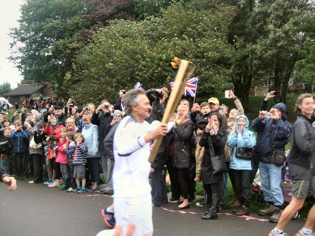 Olympic Torch Relay in Hove Park