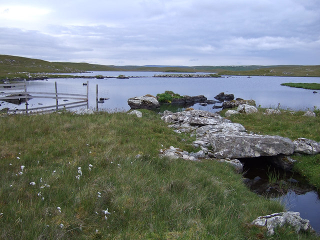 Loch of Grunnavoe outflow