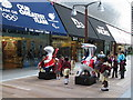 TQ3884 : Team GB shop in Westfield, Stratford by David Hawgood