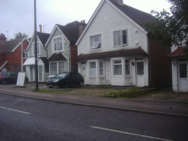 Houses on London Road, Crawley