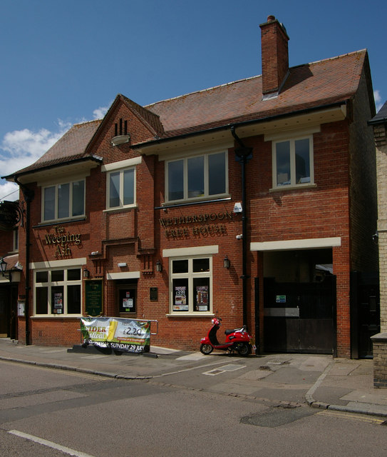 """The Weeping Ash"" public house, St Neots"