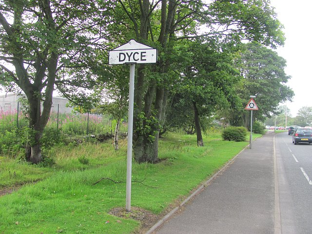 Dyce sign