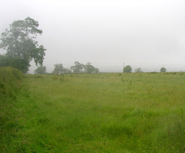 Farmland off the A607