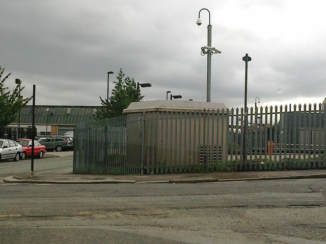 Industrial area, Belvue Road, Northolt