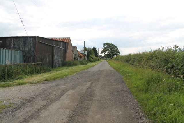 Road at Eastfield Farm